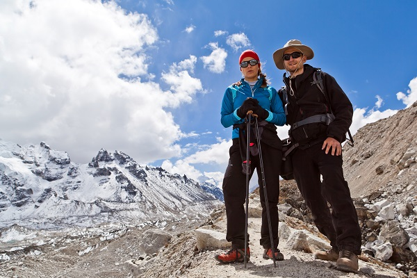 Trekking no Everest